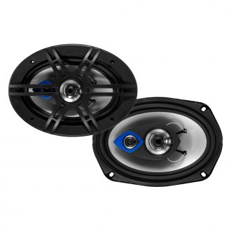 "Planet Audio® - 6"" x 9"" 3-Way Pulse Series 400W Coaxial Speakers"
