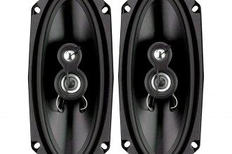 "Planet Audio® - 4"" x 10"" Anarchy Series 3-Way Coaxial 150W Speaker"