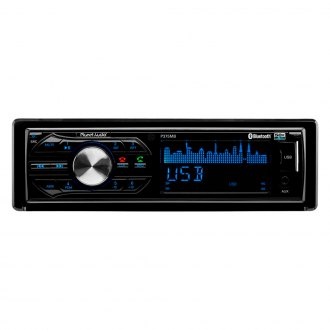 Planet Audio® - Single DIN In-Dash AM/FM/USB/SD Front Aux Car Stereo Receiver with Built-In Bluetooth