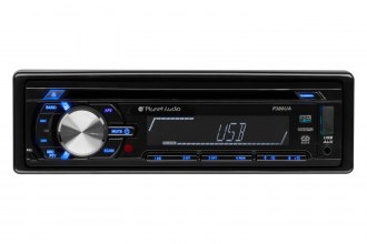 Planet Audio® - Single DIN CD/MP3/AM/FM Receiver with RC