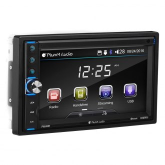 "Planet Audio® - Double DIN AM/FM/MP3 In-Dash Digital Media Receiver with 6.2"" Touchscreen Monitor and Built-In Bluetooth"
