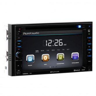 "Planet Audio® - Double DIN DVD/CD/MP3/AM/FM/USB In-Dash Stereo Receiver with Built-In Bluetooth and 6.2"" Monitor"