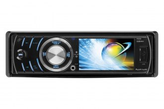 "Planet Audio® - Single DIN In-Dash DVD/CD/MP3/USB/SD Car Stereo Receiver with 3.2"" Monitor"