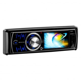 "Planet Audio® - Single DIN DVD/CD/AM/FM/MP3/WMA/MP4/AVI Receiver with 3.2"" Display and Built-In Bluetooth"