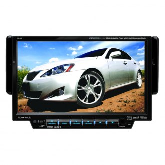 "Planet Audio® - Single DIN DVD/CD/AM/FM/USB/SD Receiver with 7"" TFT Monitor"