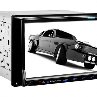 "Planet Audio® - Double DIN In-Dash AM/FM/CD/MP3/USB Car Stereo Receiver with Built-In Bluetooth and 7"" Monitor"