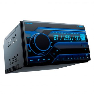 Planet Audio® - Double DIN AM/FM/MP3/WMA In-Dash Digital Media Receiver with Built-In Bluetooth and Front Aux
