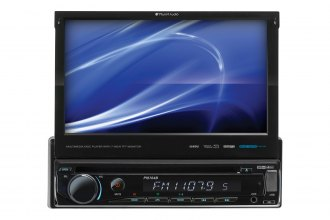 "Planet Audio® - In-Dash Single DIN DVD/MP3/CD/AM/FM/SD/USB Car Stereo Receiver with Built-In Bluetooth and Motorized Flip-Out 7"" Monitor"
