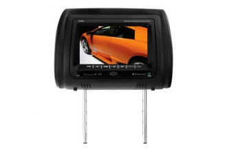 "Planet Audio® - Headrest with 7"" TFT Monitor with Built-In DVD Player"