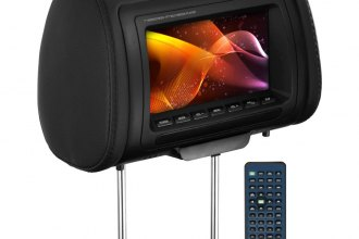 "Planet Audio® PH7ACD - 7"" Headrest TFT Monitor with Built-In DVD Player and 3 Interchangeable Covers"