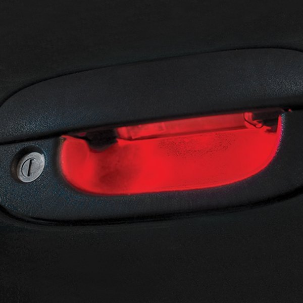 Red Door Handle LED Light Kit