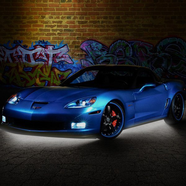 PlasmaGlow® - Flexible White LED Underbody Kit