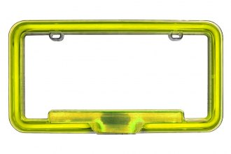 PlasmaGlow® 10123 - Yellow Neon License Plate Frame