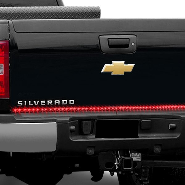 "PlasmaGlow® - 60"" Fire and Ice LED Tailgate Bar with Red Turn Signals"