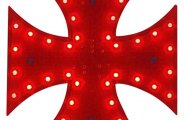 PlasmaGlow® - LED Iron Cross