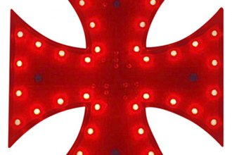 PlasmaGlow® - Red Iron Cross LED 3rd Brake Light