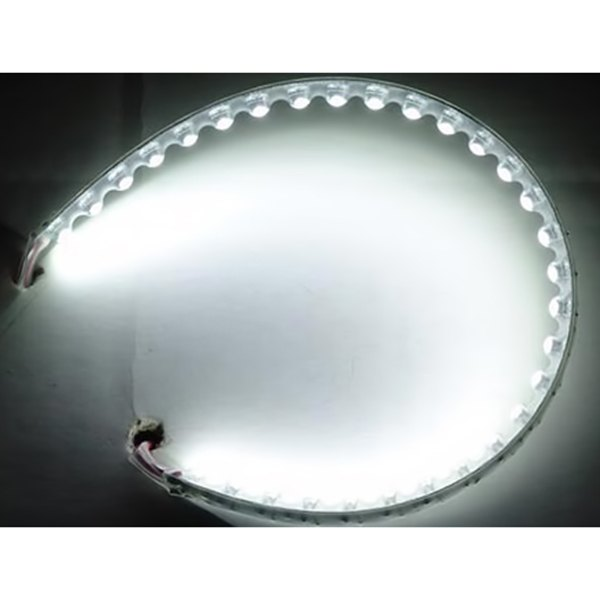 "PlasmaGlow® - 12"" White LumaFlex Flexible LED Strip"