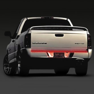 "PlasmaGlow® - 48"" Red FireStorm Scanning LED Truck Bar"