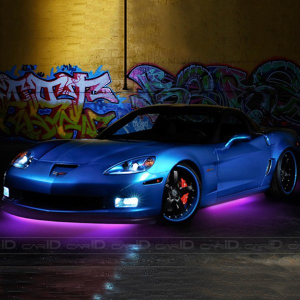 PlasmaGlow® - Purple Flexible LED Under Car Kit