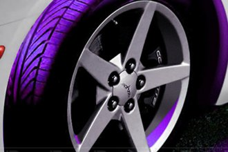 PlasmaGlow® 10614 - Purple Flexible Wheel Well Kit