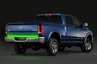 "PlasmaGlow® - 60"" Green HotLinez LED Tailgate Bar"