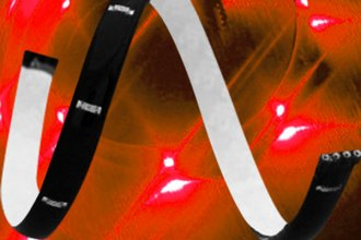 "PlasmaGlow® - 12"" Red LumaTape Flexible LED Strip"