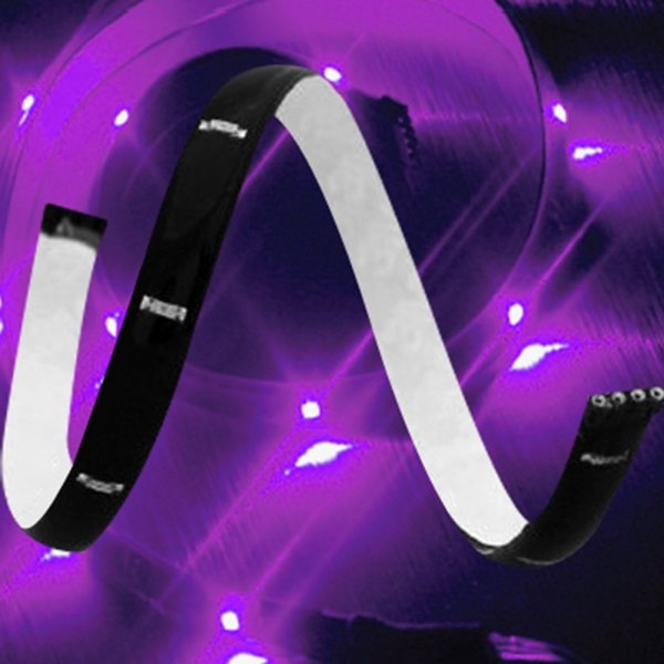 "PlasmaGlow® - LumaTape Flexible LED Strip - 12"", Purple"