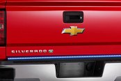"PlasmaGlow® - 60"" Flexible Fire and Ice Tailgate Bar with Red Turn Signals"