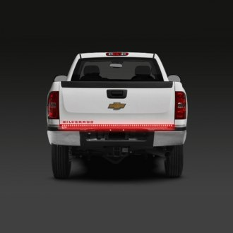PlasmaGlow® - 60 Flexible Fire and Ice Tailgate Bar with Red Turn Signals