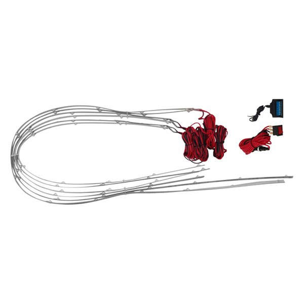 PlasmaGlow® - Red 6-Tube Flexible Under Truck Kit
