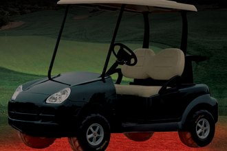 PlasmaGlow® - Red Flexible Golf Cart LED Underbody Kit