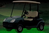 PlasmaGlow® - Green Flexible LED Golf Cart Kit