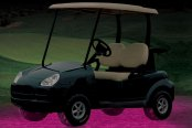 PlasmaGlow® - Pink Flexible LED Golf Cart Cart Kit