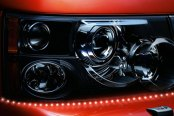 PlasmaGlow® - Lightning Eyes LED Headlight Kit - Red