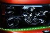 PlasmaGlow® - Lightning Eyes LED Headlight Kit - Green
