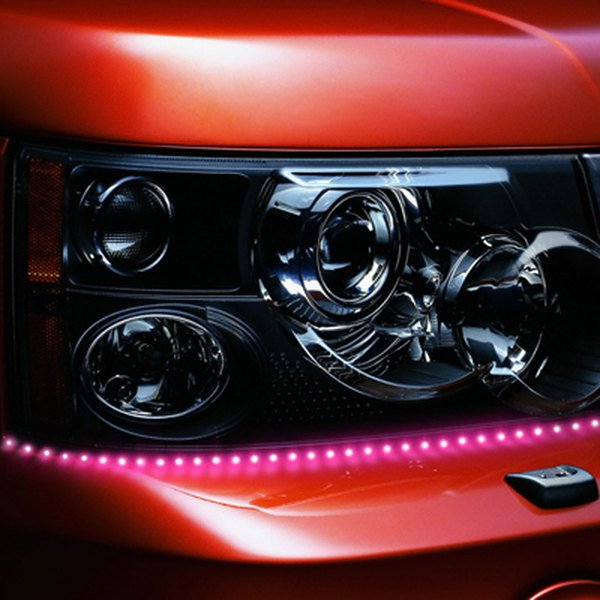 PlasmaGlow® - Lightning Eyes LED Headlight Kit - Pink
