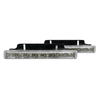 PlasmaGlow® - White Pro Series LED Daytime Running Light Kit
