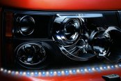 PlasmaGlow® - Lightning Eyes LED Headlight Kit - Dual Color, Blue and White