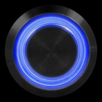 PlasmaGlow® - Blue Light Momentary LED Activator Switch
