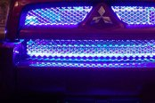 PlasmaGlow® - Blue 4-Strip LED Grille Kit