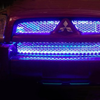 PlasmaGlow® - Blue Light 4-Strip LED Grille Kit