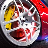 Plasmaglow® - Red LED Wheel Kit