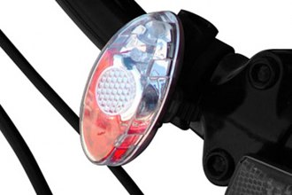 PlasmaGlow® - Red and White LED Bicycle Safety Strobe