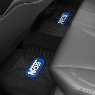 Plasticolor® - Floor Mat with Blue NOS Logo