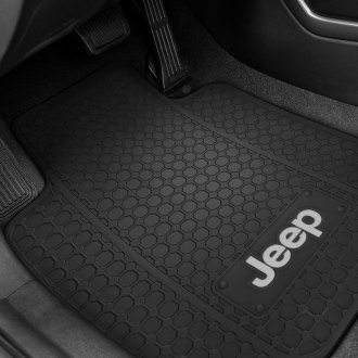 Plasticolor® - Floor Mats with Jeep Logo