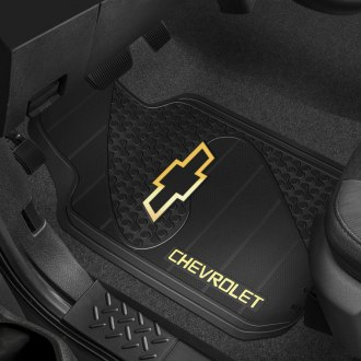 Plasticolor® - Floor Mats with Chevy Logo