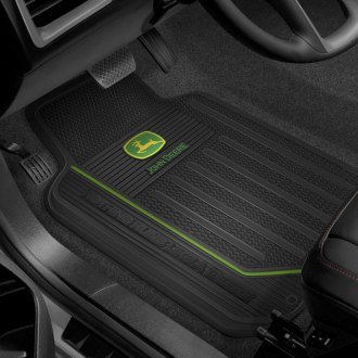 Plasticolor® - Floor Mats with John Deer Logo