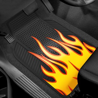 Plasticolor® - Floor Mats with Flame Design