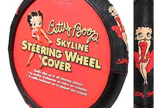 Plasticolor® - Betty Boop Skyline Steering Wheel Cover