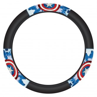 Plasticolor® - Marvel Captain America Shield Speed Grip Steering Wheel Cover